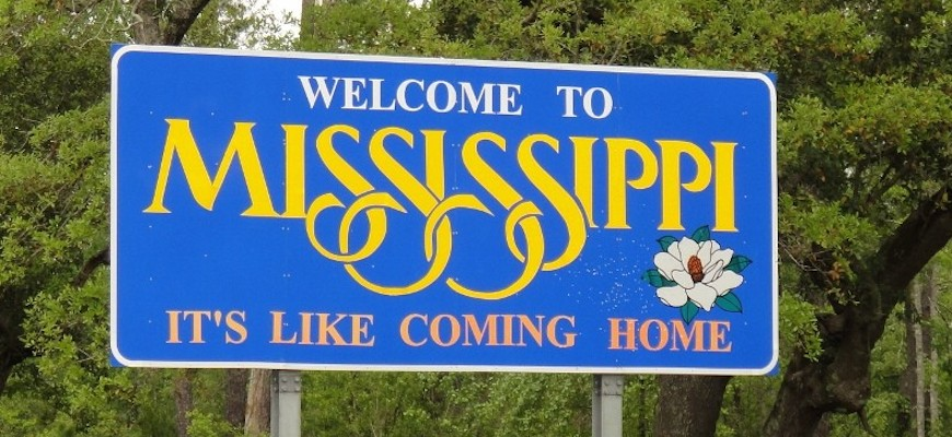 Mississippi-welcome-sign